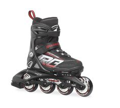 643d1f05b59 Rollerblade Kid's Spitfire XT US 5 through 8 Adjustable Size Skate,  Black/Red The NEW Spitfire XT combines 20 years of patented kids adjustable  skate design