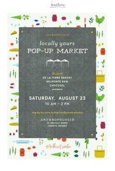 ANTHROPOLOGIE | POP-UP MARKET