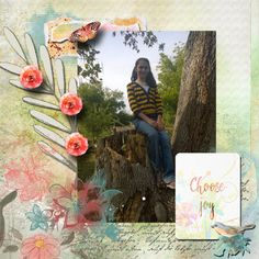 A picture of my daughter.  Kit used: Choose Joy by Manu Scraps and Snickerdoodle Designs available at http://www.digitalscrapbookingstudio.com/store/index.php?main_page=product_info&cPath=13_419&prod ucts_id=34615