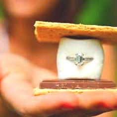 Proposal -cute but can I have a rule of DONT put the ring in ANY sort of food or drink for me?? I do not want to eat it on accident. . . . . .  . . .. . . . .. .