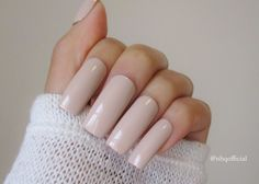 Nude Fake Nails | Square Nails | Press On Nails | Long nails by nhqofficial on Etsy https://www.etsy.com/listing/289915997/nude-fake-nails-square-nails-press-on
