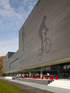 Mecanoo Architekten ,sportzentrum in Eindhoven.