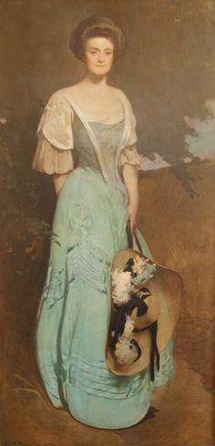"""Alice Carter Dickerman, Class of 1899"" by John White Alexander"