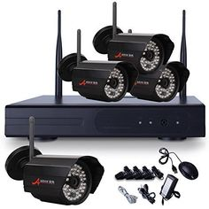 Special Offers - ANRAN 4 Channel 720P WIFI NVR Kit Wireless IP Network Security Camera System with 4 of Outdoor Indoor Day Night 48IR Home Surveillance Camera Free APP for Remote No Hard Drive - In stock & Free Shipping. You can save more money! Check It (June 27 2016 at 10:11AM) >> http://wpcamera.net/anran-4-channel-720p-wifi-nvr-kit-wireless-ip-network-security-camera-system-with-4-of-outdoor-indoor-day-night-48ir-home-surveillance-camera-free-app-for-remote-no-hard-drive/