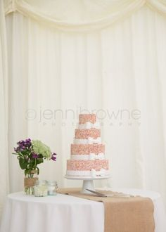 Photos by Jenni Browne, cake by Taystful, Planning by Blue Thistle Weddings, runner by Gordons, Flowers by Coach House Flowers