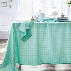 Toalha de mesa jacquard, mentine La Redoute Interieurs | La Redoute