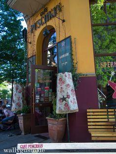 Currywurst, Graffiti & Kultur - {Unterwegs} in Leipzig: Cafe Puschkin