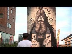 The Mill's mcbess paints the Berlin Wall