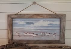 How to get a Driftwood look for a frame