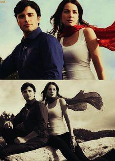 Tom Welling/Clark Kent & Erica Durance/Lois Lane