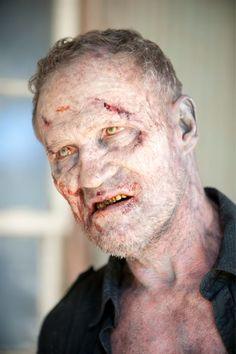 zombie merle closeup