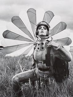 Mirella Petteni in a Saga Mink Jumpsuit, 1963 | by F.C. Gundlach
