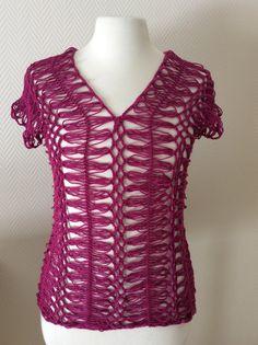 Crochet Owl Hat, Crochet Tunic, Crochet For Boys, Crochet Clothes, Knit Crochet, Crochet Edgings, Crochet Motif, Hairpin Lace Patterns, Hairpin Lace Crochet