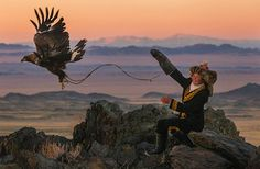 Capturing Beauty: Meet the Only 13-Year-Old Girl in the World Fearless Enough to Hunt with Eagles - mom.me