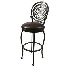 Pastel Furniture Island Falls Swivel Counter Stool in Ford Brown Swivel Counter Stools, Metal Bar Stools, Counter Height Stools, Counter Chair, Bar Counter, Pastel Furniture, Bar Furniture, Furniture Deals, Pastel Interior
