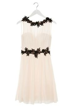 Sukienka koktajlowa - biały