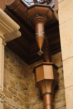 Click to Close Copper Gutters, Copper Roof, Copper Metal, Metal Roof, Drain Pipes, Copper Crafts, Joinery Details, Stair Case, Tiny House Living