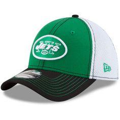b5b67fab7 Men s New Era Green New York Jets Super Bowl III On The Fifty Pop Logo 39THIRTY  Flex Hat