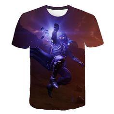 New fashion children's / adult t-shirt men's cartoon short sleeve cute 3D print forniter youth t-shirt Tops