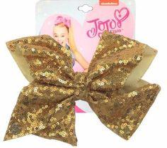 Jojo Siwa Gold Sequin Large Signature Hair Bow Cheer Dance Pageant for sale online Jojo Siwa Hair, Jojo Siwa Bows, Jojo Hair Bows, Jojo Bows, Jojo Siwa's Number, Prayer For Daughter, Jojo Siwa Birthday, 22nd Birthday, Jojo Siwa Outfits