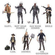 The Walking Dead Action Figures