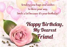 Happy Birthday Wishes Messages Cards Amp Greetings To Friend