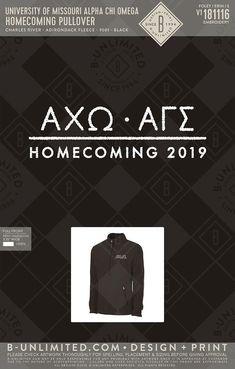 #axo #alphachiomega #greekshirt Greek Shirts, Charles River, Alpha Chi Omega, Social Events, Homecoming, Print Design, Print Layout