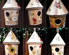 Most up-to-date Cost-Free round bird house Popular You will discover endless models of birdhouses available these days, however quite not many are looked into plus fashio Wooden Bird Houses, Decorative Bird Houses, Bird Houses Painted, Wood Bird Feeder, Birdhouse Designs, Garden Ornaments, Birdhouses, Best Friend Gifts, Gifts For Father