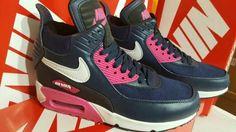 Zapatillas Botitas Nike Air Max 90 Dama Importadas - $ 2.489,99 en Mercado Libre