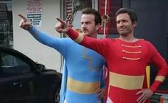 Richard Speight Jr and Rob Benedict - These guys.I swear Jared And Jensen, Jensen Ackles, Kings Of Con, Supernatural Actors, Supernatural Angels, Rob Benedict, Richard Speight, Super Hero Outfits, Winchester Boys