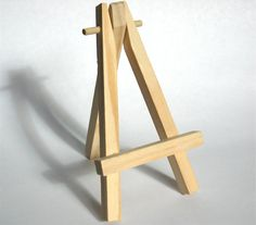 Miniature Easel small easel painting easel photo easel business card easel library card catalog dewey decimal