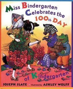 Miss Bindergarten Celebrates the 100th Day of Kindergarten, PG-9780142500057