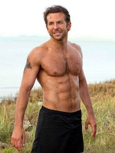 Oh hey there, shirtless bradley cooper!