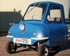 worlds smallest car peel p50