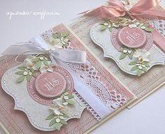 scrappassion: komunijnie First Communion Cards, First Holy Communion, Pretty Cards, Cute Cards, Scrapbooking, Scrapbook Cards, Exploding Box Card, Spellbinders Cards, Wedding Anniversary Cards