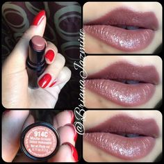 Barbie Drugstore Makeup — wet n wild 'mocha-licious' Pink Lip Gloss, Pink Lips, Makeup Swatches, Drugstore Makeup, Lipstick Swatches, Kiss Makeup, Love Makeup, Candy Makeup, Elf Makeup