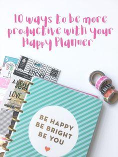 Happy Planner productivity