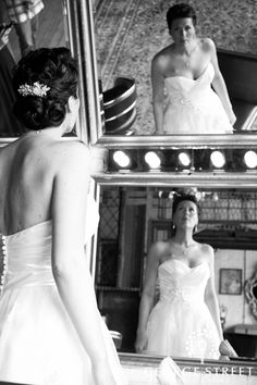 Love this unique mirror shot.   www.georgestreetphoto.com
