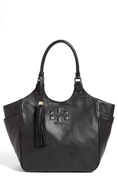 Tory Burch 'Thea' Leather Tote available at #Nordstrom