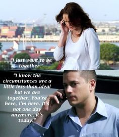 Sara and Michael prison break