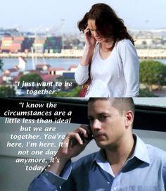 Sara and Michael prison break