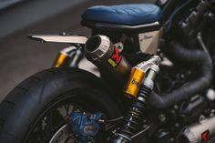 Warsztat NCT zaprezentował swoją wersję wycofanego z produkcji modelu Dyna Harleya-Davidsona - Sznyt.pl