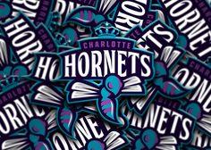 CHARLOTTE HORNETS LOGO DESIGN on Behance