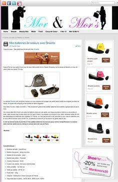 [Article] Shoette coup de coeur du blog Mor&Mors http://morandmors.com/2013/10/05/mes-ballerines-de-secours-avec-shoette/