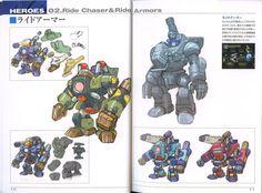 "comiccompendium: "" Megaman maverick hunters and reploids concept art "" Maverick Hunter, Game Concept Art, Mega Man, Book Art, Sci Fi, Fandoms, Album, Baby, Hunters"