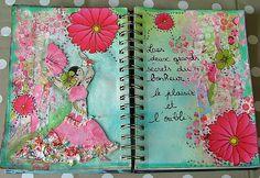 art journal bonheur 11