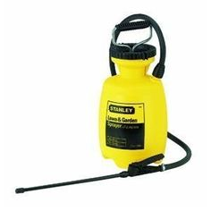 Chapin Mfg. 71010 Stanley 1 Gallon Tank Sprayer by Chapin. $23.98. 1 EACH. All purpose poly tank sprayer. 42'' reinforced poly hose. 12'' poly extension with poly nozzle. 1 gallon usable capacity.