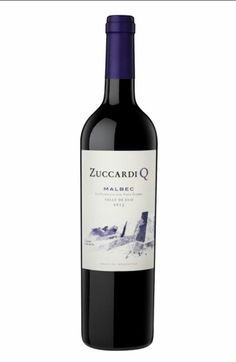 Zuccardi Q Malbec Mendoza Argentina 14.5% alcohol $22 dark red with aromas of black fruit and violets. Rich plum, chocolate and tobacco notes. Smooth. Aged in oak and cement vats. 92pts. #wine #redwine # zuccardi