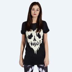Drop Dead Clothing - Skull Fucked T-shirt (Black)