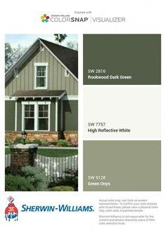 Exterior Paint Colours For House Stucco 2019 59 Ideas - Exterior Paint Colours For House Stucco 2019 Green Exterior Paints, Exterior Paint Colors For House, Paint Colors For Home, Paint Colours, Outside House Paint Colors, Exterior Color Schemes, House Color Schemes, Green House Color, Pintura Exterior
